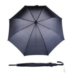 Doppler Parasol męski,  77267B stalowy w pepitkę, długi
