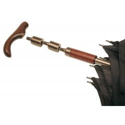 praktyczny parasol M&P     2 w 1 - parasol+laska