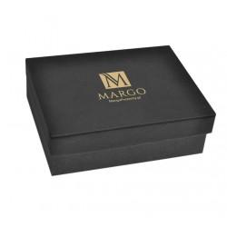 Eleganckie pudełko prezentowe 21x15x8cm czarne
