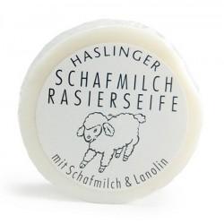 Haslinger, Mydło  do golenia 60g z owczym mlekiem i lanoliną