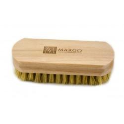 Margo, szczotka do polerowania, 12,5cm, 100% szczecina, drewno