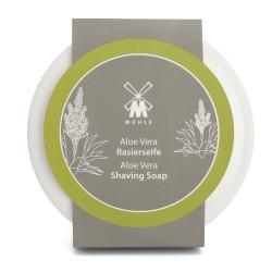 Mühle Mydło do golenia Aloe Vera, porcelanowy tygielek, 65g