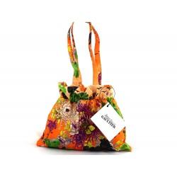 JPG, Parasol  damski MIICRO-MINI Kimono ORANGE, Jean Paul Gaultier, składany