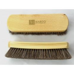 Szczotka  z końskiego włosia do czyszczenia butów MARGO LUX - 19 cm