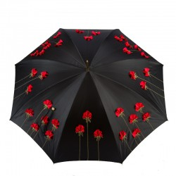 PASOTTI Parasol Damski EXCLUSIVE POPPIES