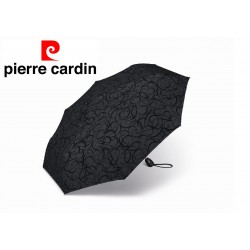 Parasol Pierre Cardin easymatic light black illumination