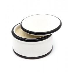 Panna Crema Nuàvia Nera 200ml, intensywny świeży zapach, trójfazowe mydło do golenia