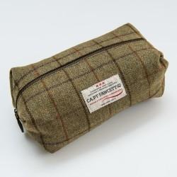 CF, tweedowa brytyjska saszetka na męskie akcesoria