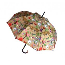 "GdJ Parasol damski Couture ""Faune et flore"", Guy de Jean, długi"