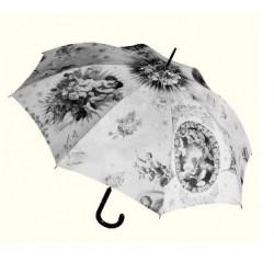 JPG Parasol damski medaillon, Jean Paul Gaultier, długi