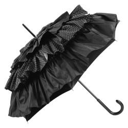 GdJ Parasol damski Cancan Luxury I Pois Blane, Guy de Jean, długi
