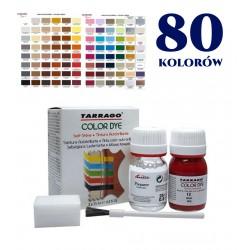 Farba do butów TARRAGO Color Dye Double 25ml+25ml 80 kolorów do wyboru