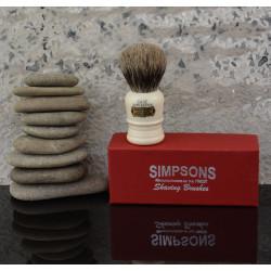 SIMPSONS - CASE C1, 100% borsuk, pędzel do golenia
