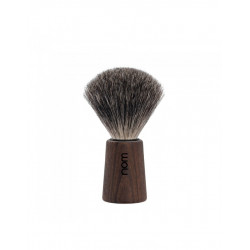 Mühle Nom Theo Pędzel do golenia Pure Badger Dark Ash