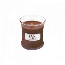WoodWick®, Mała Świeca - Patchouli, zapach paczuli, wanilii i ambry, 40 godzin!