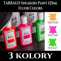 TARRAGO Sneakers Paint Fluor Colors 125ml