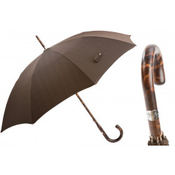 Pasotti Parasol męski Bespoke 142 Milford-5 HT - uchwyt z litego drewna hikory