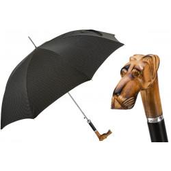 Pasotti Parasol męski bespoke 478 Pto CN5 N52 - Ręcznie rzeźbiony uchwyt dog niemiecki