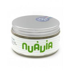 Pannacrema Nuavia Verde 160ml grapefrut, róża i liść laurowy, trójfazowe mydło do golenia