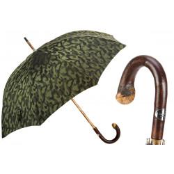 Pasotti Bespoke Camouflage męski parasol z rączką z drewna kasztana 142 11780-254 CB