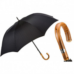 Pasotti Parasol męski Bespoke 145 Minigalles-13 C - Black Minigalles Umbrella