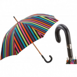 Pasotti Parasol męski Bespoke 142 Venez-1 P - Multicolor Stripes Umbrella