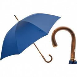 Pasotti Parasol męski Bespoke 476 Oxf-8 C - Solid Stick Blue Umbrella