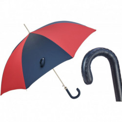 Pasotti Parasol męski Bespoke 478 Oxf-4-14 N36 - Red and Navy Sport Umbrella