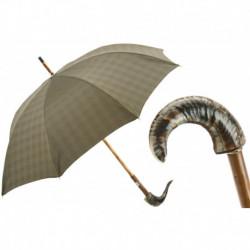 Pasotti Parasol męski Bespoke 142 Milford-6 CM - Mutton Horn Umbrella