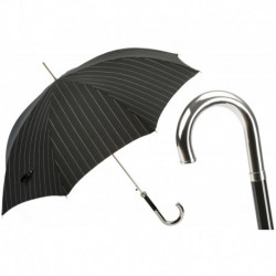 Pasotti Parasol męski LUX 478 1094-1 M31 - Striped Dandy Umbrella