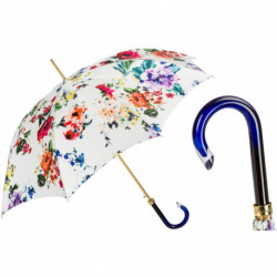 Pasotti Parasol damski  Flowered  20 5K598-1 G15 - Spring Umbrella with Flowers
