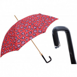 Pasotti Parasol damski  Animal 20 5G284-2 G17 - Funky Cheetah Umbrella