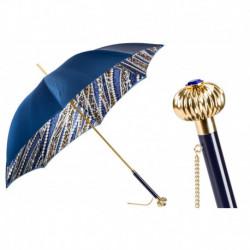 Pasotti Parasol damski  Animal 189 5A003-33 U14 - Fantastic Umbrella with Pearls ad Cheetah Print