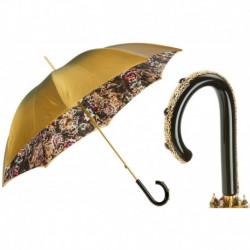 Pasotti Parasol damski  Animal 189 5X015-2 C49 - Animalier Umbrella with Flowers
