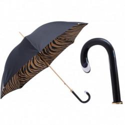 Pasotti Parasol damski  Animal 189 21028-11 G15 - Brown Zebra Print Umbrella