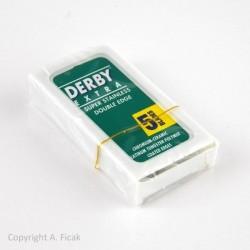 Żyletki Derby Extra 5szt, ostrze pokryte platyną i chromem