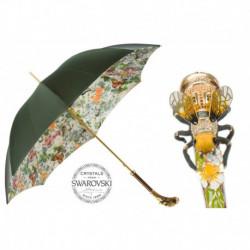 Pasotti Parasol damski  LUX 189 5D557-1 K15 - Luxury Swarovski Bee Umbrella