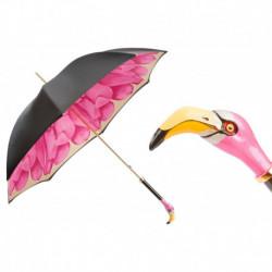 Pasotti Parasol damski  LUX 189 21065-30 K9 - Flamingo Umbrella