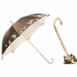 Pasotti Parasol damski  LUX 280 Plat-30 C22 - Luxury Hand Embroidered Umbrella