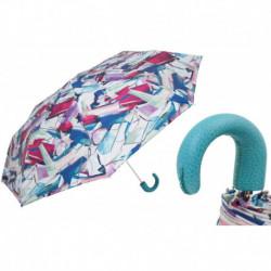 Pasotti Parasol damski  składany 257 5A795-5 P - Colorful Folding Umbrella