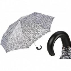 Pasotti Parasol damski  składany 257 5E438-5 P - Little Circles Folding Umbrella