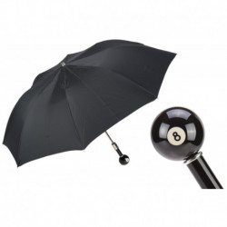 Pasotti Parasol męski  składany 64 50890-5 N30 - Billiard Pool 8-Ball Folding Umbrella