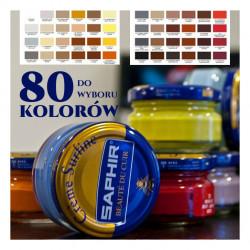 SAPHIR Pommadier 50ml - KREM DO OBUWIA BUTÓW Różne kolory