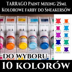 TARRAGO Sneakers Paint Mixing Colors 25ml