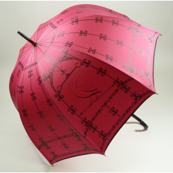 ChT Parasol damski KLATKA DLA PTAKÓW FUCHSIA, CHANTAL THOMASS