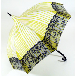"ChT Parasol damski  ""DEVINE-MOI"" PETITE PAGODE kolor cytrynowy, CHANTAL THOMASS"