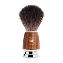 MÜHLE, pędzel do golenia włosie Black Fibre 21 H 220,  jesion