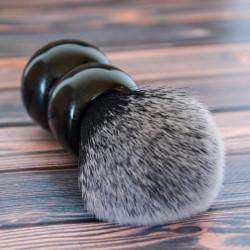 RazoRock, kanadyjski pędzel do golenia Tuxedo Plissoft Snowman szybkoschnące włosie, 24 mm