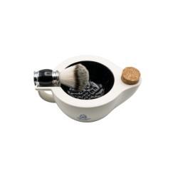 Pereira Shavery Scuttle Bowl - tygiel do golenia wykonany z ceramiki z Coimbry