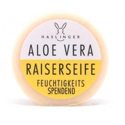 Haslinger, Nawilżające aloesowe mydło do golenia 60g